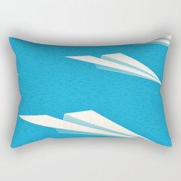 Paper squadron Rectangular Pillow