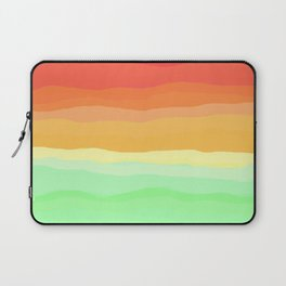 Rainbow - Cherry Red, Orange, Light Green Laptop Sleeve