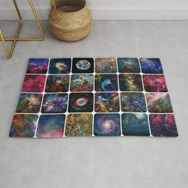 The Amazing Universe - Collection of Satellite Imagery Rug