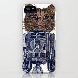 Cat2D2 iPhone Case