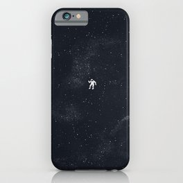 Gravity - Dark Blue iPhone Case