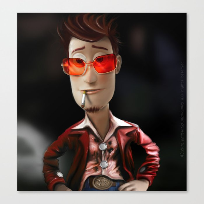 Hit me has hard has you can Buzz..!...(Fight Club) Canvas Print