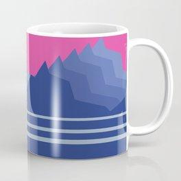 Sunset Mountain Range Coffee Mug
