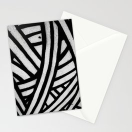 Blend Your Soul Black and White Stationery Cards