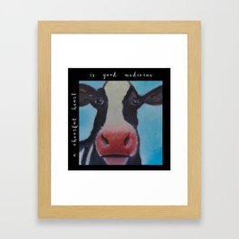 Cheerful Heart Framed Art Print