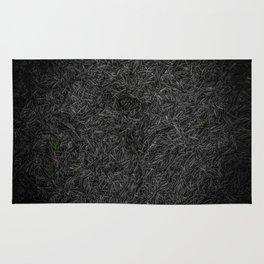 Needle Carpet Green Color Pop Rug