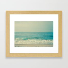 Blue H20 Framed Art Print