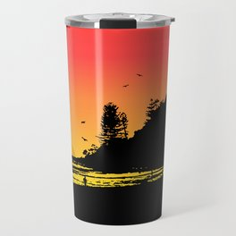 Burleigh beach Travel Mug