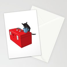 Chat Noir Beverage Tipper Stationery Cards