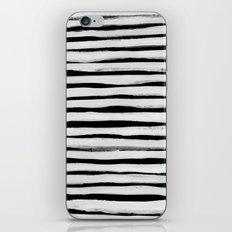 Black and White Stripes II iPhone & iPod Skin