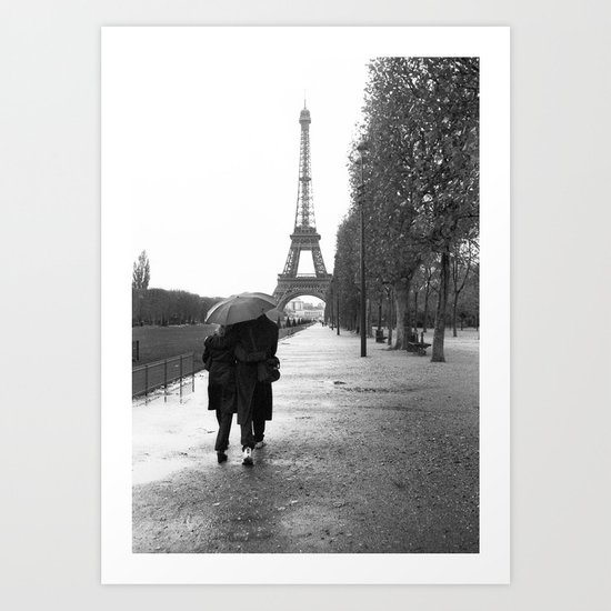 Paris Amour Art Print