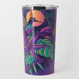 Purple Garden Travel Mug