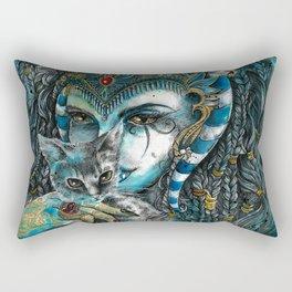 Goddess Bastet Rectangular Pillow