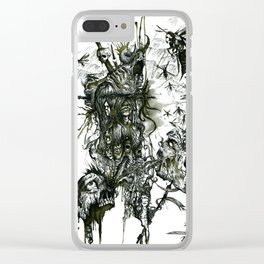 Monument Of The Uncleansed Clear iPhone Case