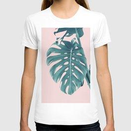 Monstera Delight #3 #tropical #decor #art #society6 T-shirt