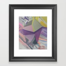 Celadon & Primrose  Framed Art Print