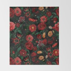 Botanical Garden Throw Blanket