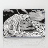 polar bear iPad Cases featuring Polar Bear by Meredith Mackworth-Praed