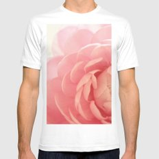 Ranunculus MEDIUM Mens Fitted Tee White