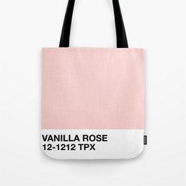 vanilla rose Tote Bag