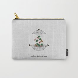 Wok On The Wild Side, Music Quote Carry-All Pouch