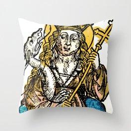 Saint Margaret of Antioch Throw Pillow