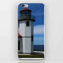 Alki Point Light iPhone Skin