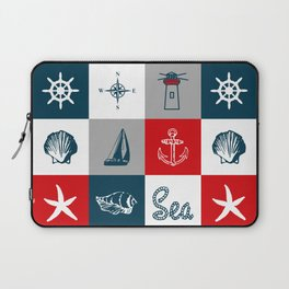 Nautical design 4 Laptop Sleeve