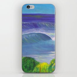 deep_water art iPhone Skin