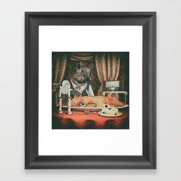 Lunchtime Framed Art Print