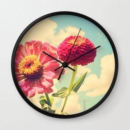Lovely flower Wall Clock