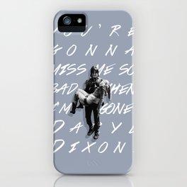 Daryl Dixon and Beth Greene iPhone Case