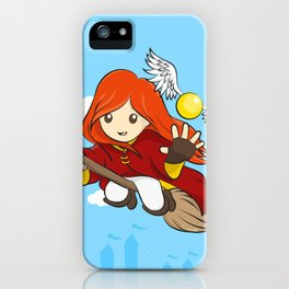 HP - Snitch Catcher - Ginger girl iPhone Case