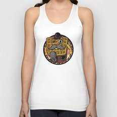 Distinguished Waffleman. Unisex Tank Top