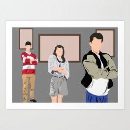 Ferris Bueller Art Print