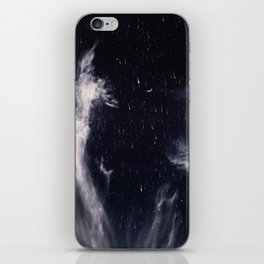 Falling stars II iPhone Skin
