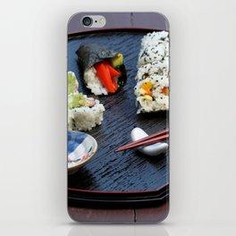 Sushi Plate iPhone Skin