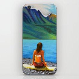 Epuyén Lake  iPhone Skin