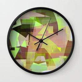 shock wave Wall Clock