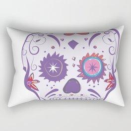 Sugar Skull Buenas Dias Rectangular Pillow