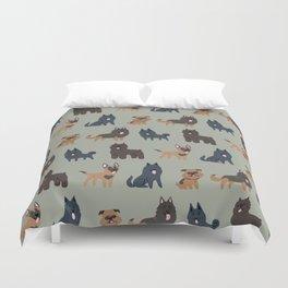 BELGIAN DOGS Duvet Cover