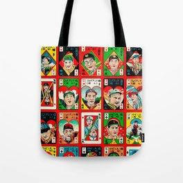 Baseball Menko Tote Bag