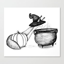 Witch Slug Canvas Print