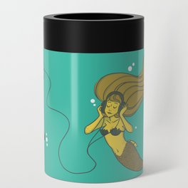 The Vinyl Mermaid Can Cooler