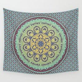 Traditional Mandala Design Wall Tapestry