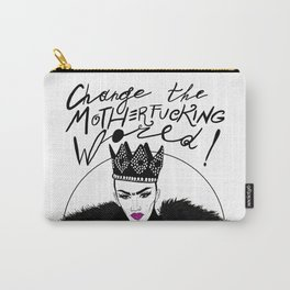 Let's Change this Motherf*cking World! Carry-All Pouch
