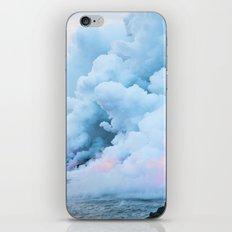 Pastel volcano smoke iPhone & iPod Skin