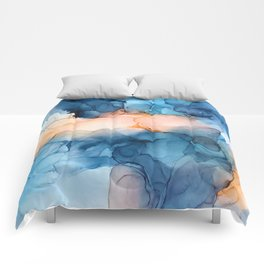 Captivate- Alcohol Ink Painting Comforters