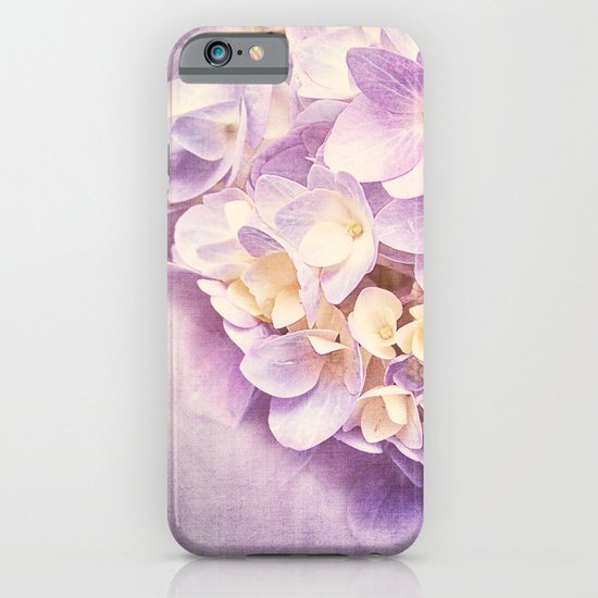PURPLE DREAM OF HYDRANGEA iPhone & iPod Case