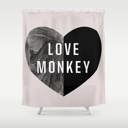 Love Monkey Shower Curtain